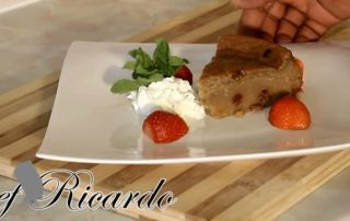 Jamaican Potato Pudding with Chief Ricardo