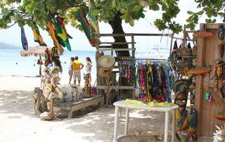 Jamaican beach Ocho Rios Mahogany Beach