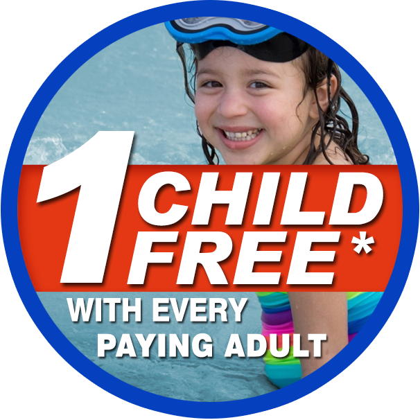 ! child free with every paying adult